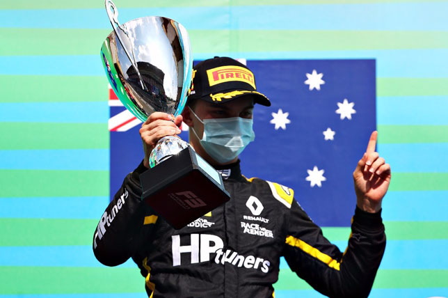 Формула 2: Оскар Пиастри подписал контракт с Prema