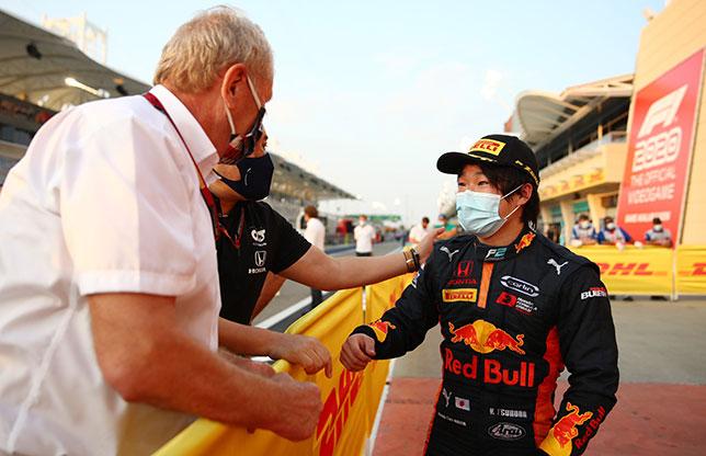 Формула 2: Субботнюю гонку в Сахире выиграл Юки Цунода