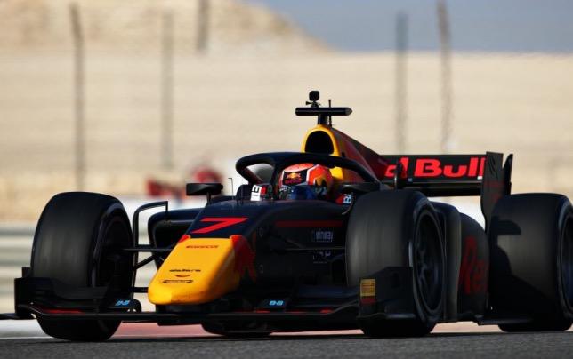 Джейхан Дарувала на тестах в Бахрейне, фото пресс-службы Формулы 2