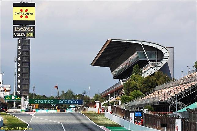 Стартовое поле Гран При Испании 2021