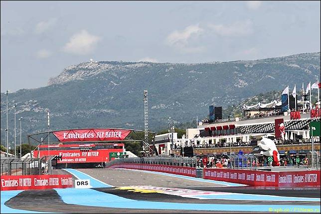 Стартовое поле Гран При Франции 2021