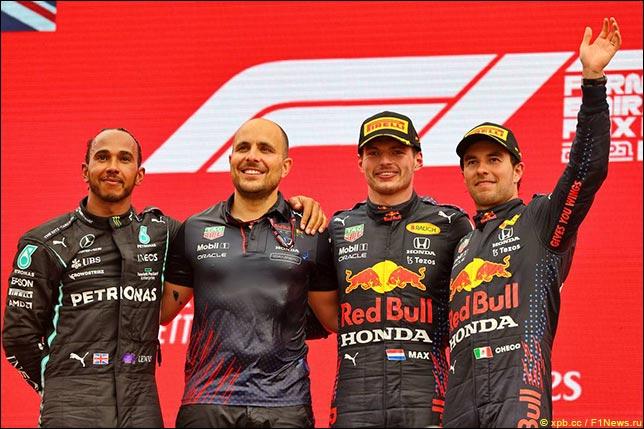 Подиум Гран При Франции