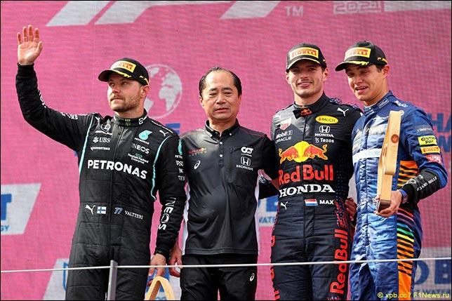 Подиум Гран При Австрии