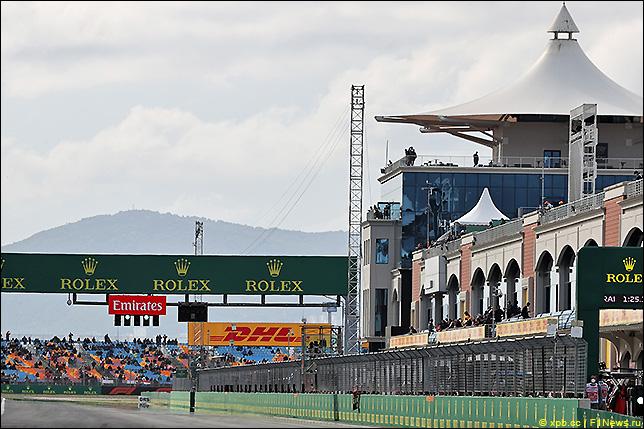 Стартовое поле Гран При Турции 2021