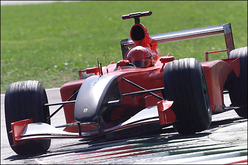 Траурная раскраска Ferrari
