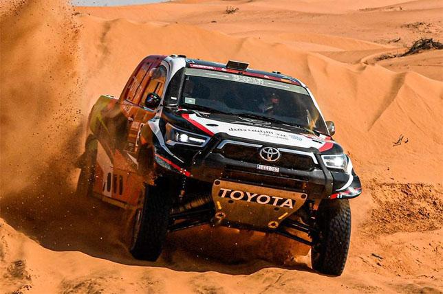 Дакар: Язед Аль-Раджи выиграл десятый этап