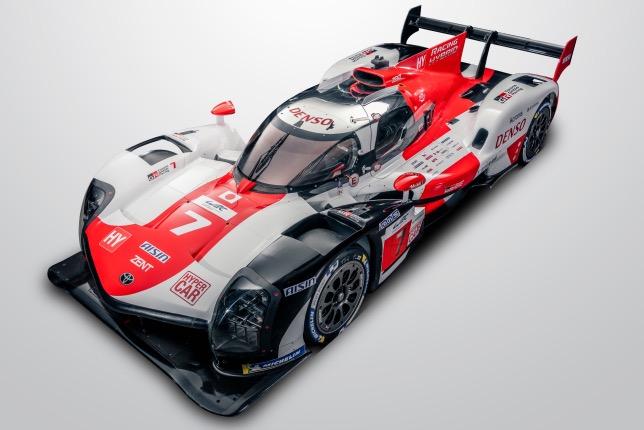 Toyota GR010 Hybrid класса Le Mans Hypercar
