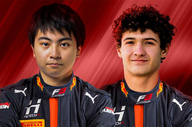 Формула 3: Кроуфорд и Иваса подписали контракт с Hitech