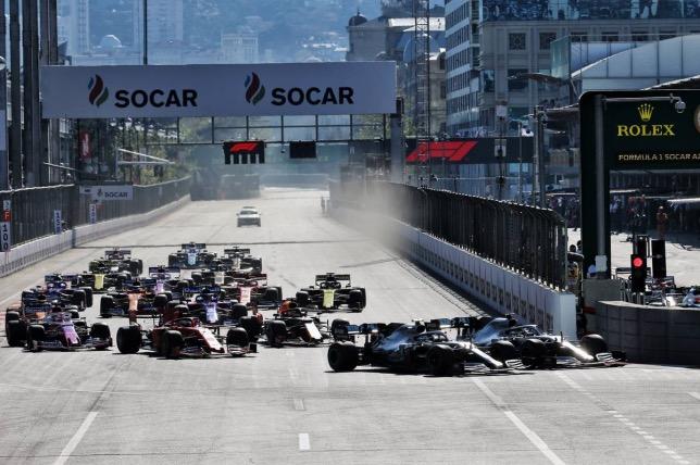 Старт Гран При Азербайджана, 2019 год