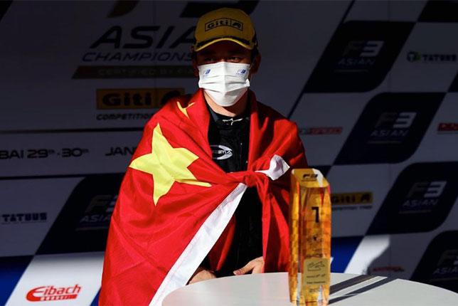 Ф3 Азия: Победный дубль гонщиков Prema