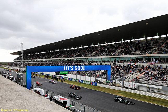 Стартовое поле Гран При Португалии, 2020 год