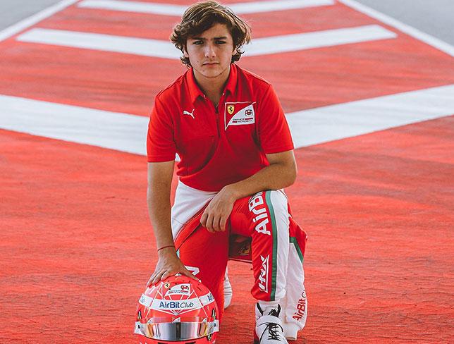 Энцо Фиттипальди уходит из Гоночной академии Ferrari