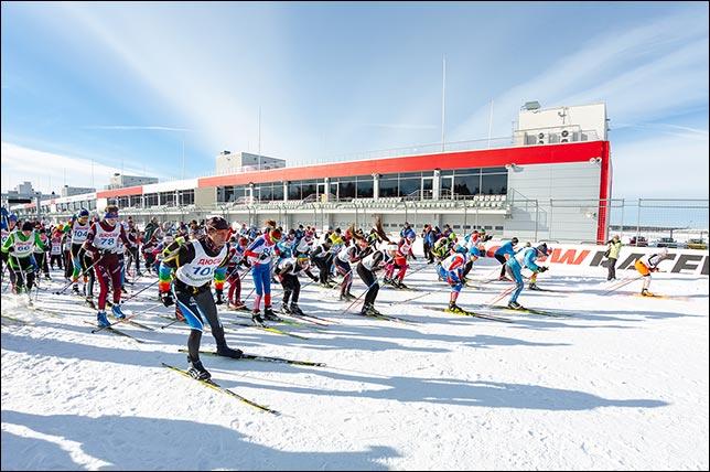 Большой снежный праздник на Moscow Raceway