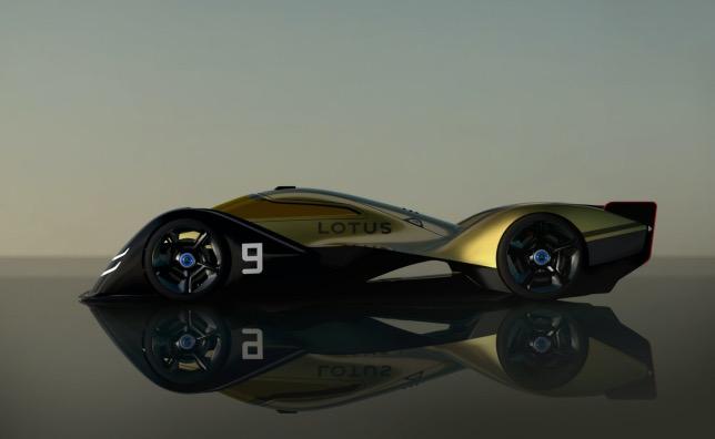 Lotus E-R9 – электрический прототип для Ле-Мана