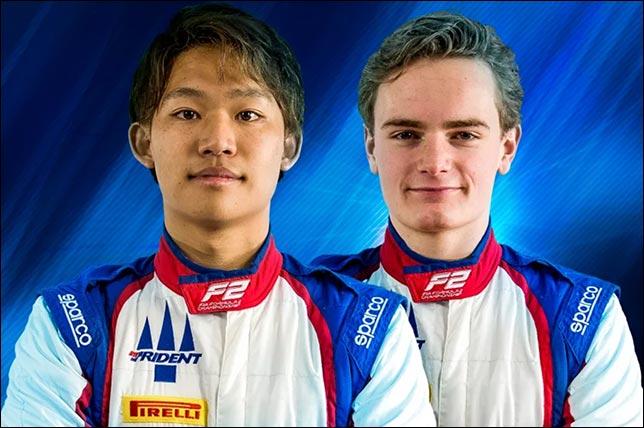 Формула 2: Сато и Фискал выступят за Trident