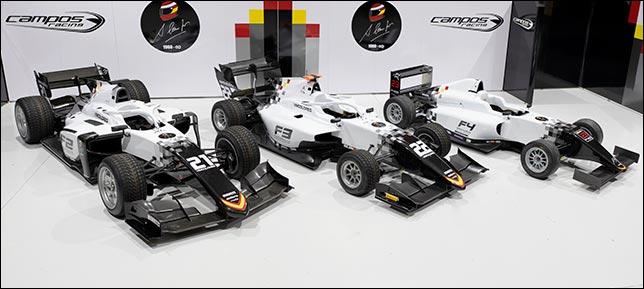 В Campos Racing вернутся к черно-белой раскраске машин