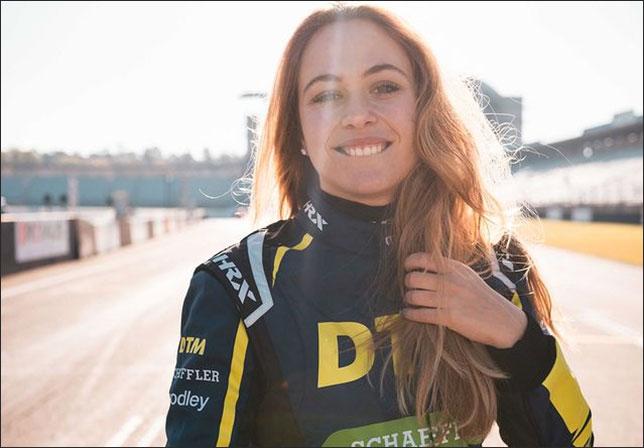 София Флёрш готовится к дебюту в DTM