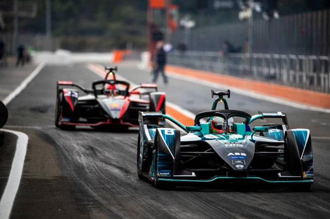 Тесты Формулы E в Валенсии