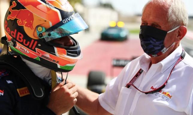 Джехан Дарувала и Хельмут Марко, фото пресс-службы Формулы 2