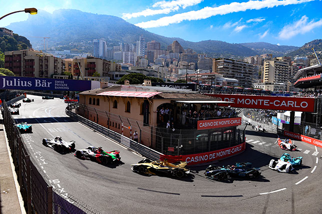 Гонка Формулы E в Монако пройдёт по трассе Гран При