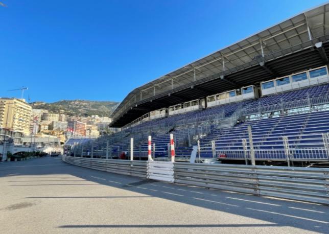 Сооружение трибун на трассе в Монако практически завершено, фото Автоклуба Монако