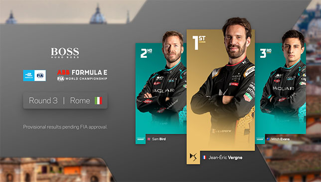Формула E: Субботнюю гонку в Риме выиграл Вернь