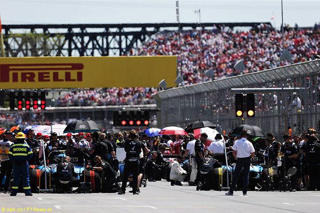 Формула 1 ждёт ответа от организаторов гонки в Канаде