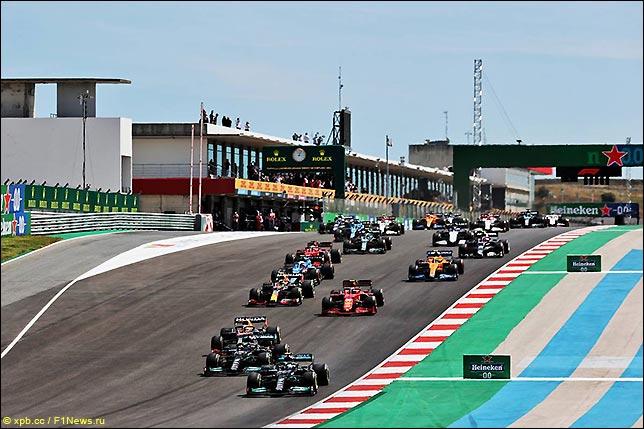 Старт Гран При Португалии 2021