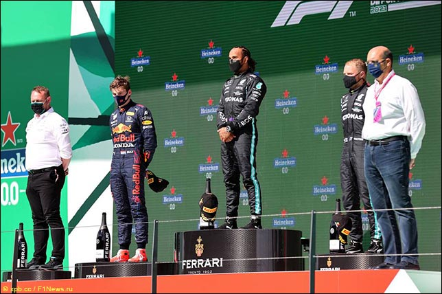 Подиум Гран При Португалии