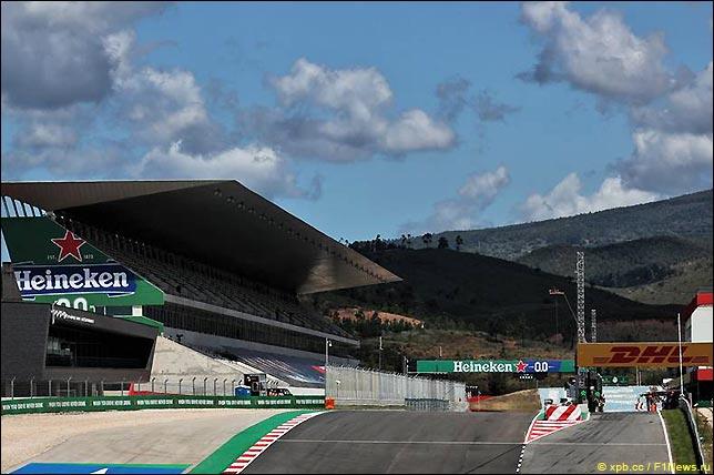 Стартовое поле Гран При Португалии 2021