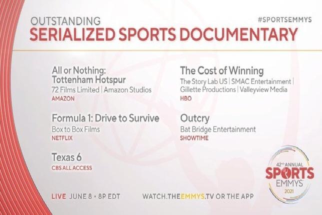 Список номинантов на премию Sports Emmy Awards