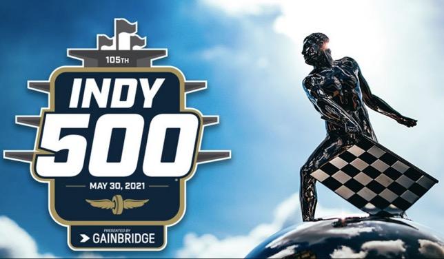 Плакат, посвящённый предстоящей гонке, фото пресс-службы Indianapolis Motor Speedway