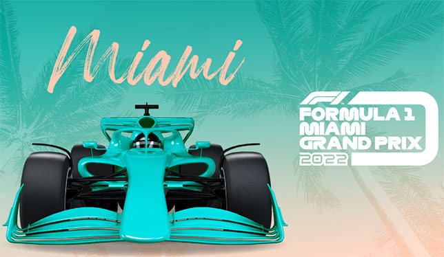 Плакат Гран При Майами