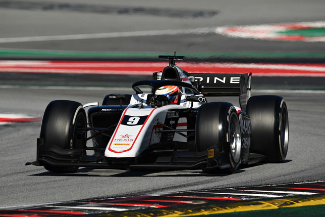Формула 2: У Лундгарда лучшее время в первый день тестов