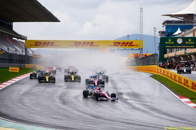 Старт Гран При Турции, 2020 год
