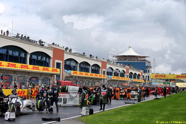 Стартовая решётка Гран При Турции, 2020 год