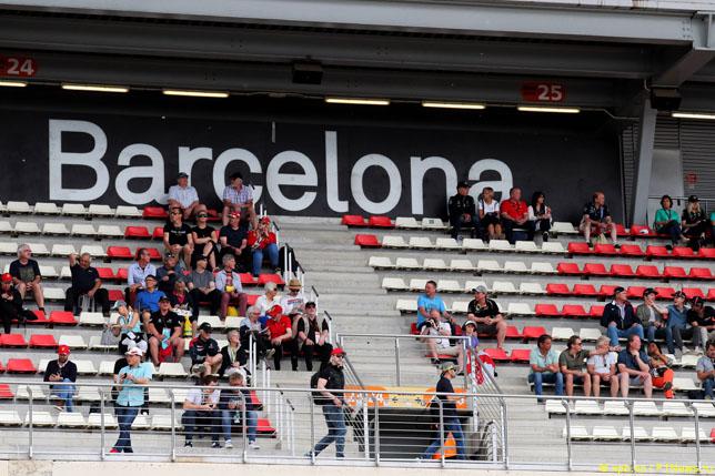 Болельщики на Гран При Испании, 2019 год
