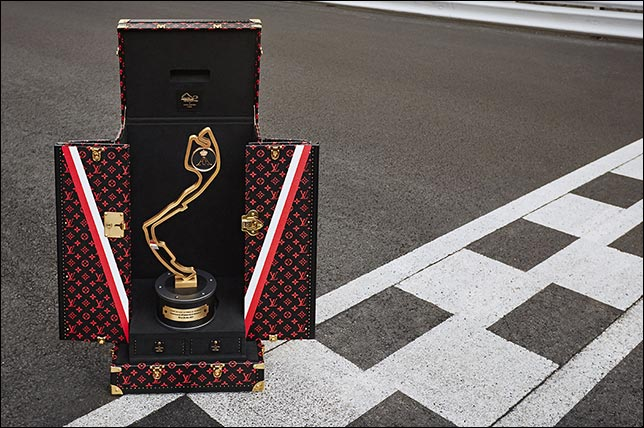 Французский модный дом Louis Vuitton изготовил кейсы для призовых кубков Гран При Монако...
