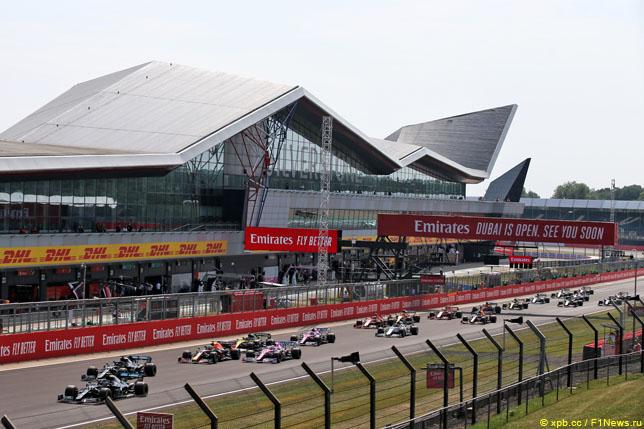 Старт Гран При Великобритании, 2020 год