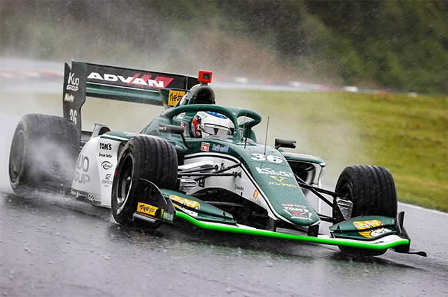 Super Formula: Джулиано Алези завоевал свой первый поул