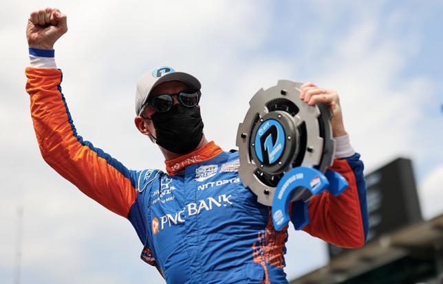 Скотт Диксон стартует с поула в Indy 500, фото пресс-службы IndyCar