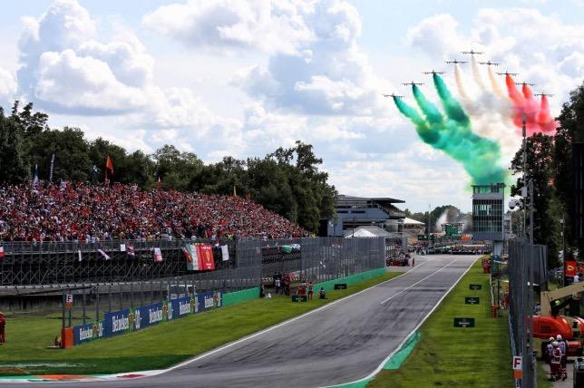 Гран При Италии 2019 года, фото XPB