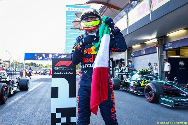 Серхио Перес –победитель Гран При Азербайджана