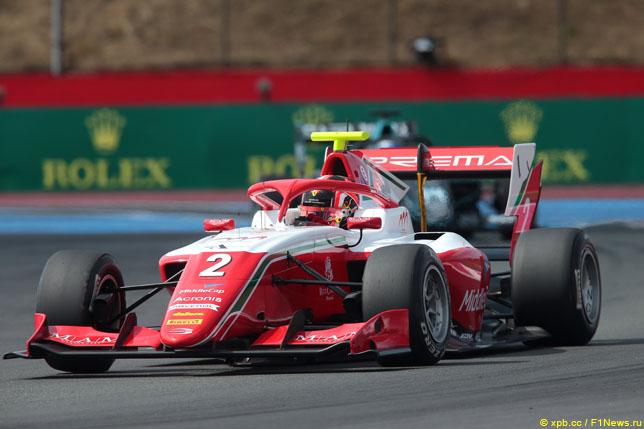 Артур Леклер одержал первую победу в Формуле 3