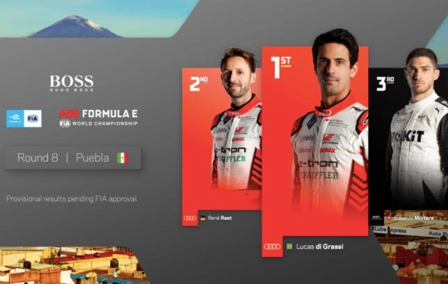 Формула E: Гонку выиграл ди Грасси, не лидировав ни круга