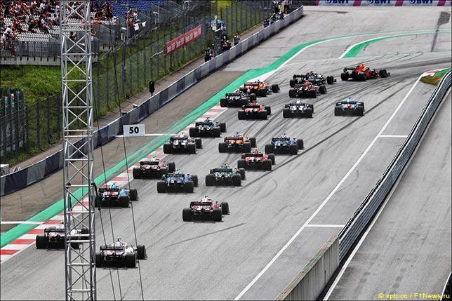 Старт Гран При Штирии 2021