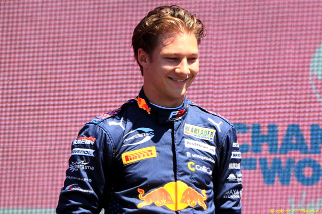Ф3: Деннис Хаугер одержал третью победу в сезоне