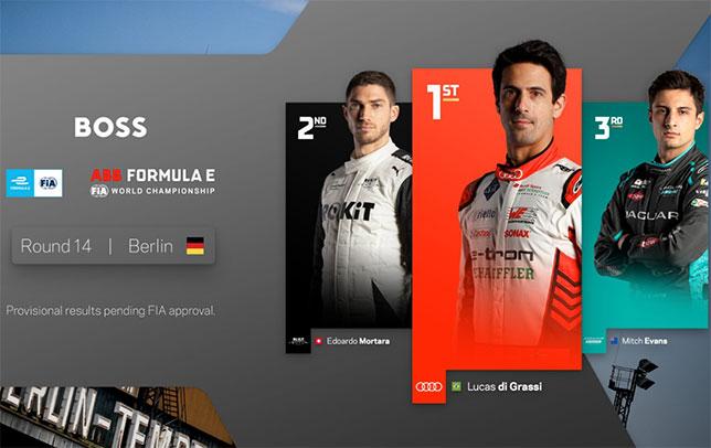 Формула E: Первую гонку в Берлине выиграл ди Грасси