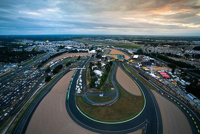 Трасса в Ле-Мане с высоты птичьего полёта, фото пресс-службы гонки