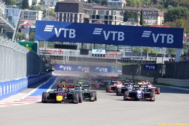 Финал сезона Формулы 3 перенесён в Сочи